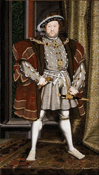 Henry VIII of England broke with Rome and declared himself Head of the Church in England.